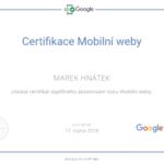 Mobilní weby – certifikace